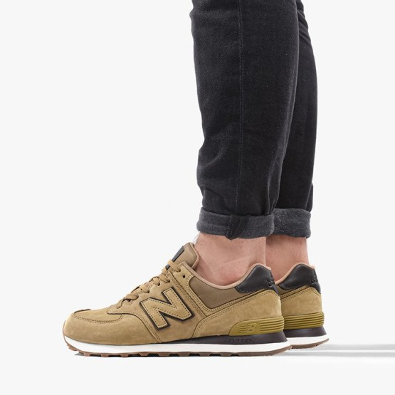 נעליים ניו באלאנס לגברים New Balance ML574 - חאקי