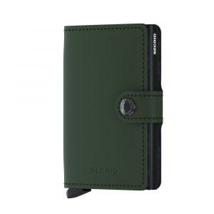 ארנק סיקריד לגברים Secrid Miniwallet Vintage - ירוק כהה