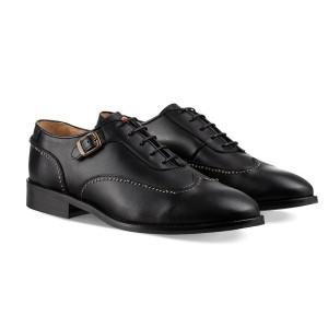 נעליים אלגנטיות נו ברנד לגברים NOBRAND Taylor - שחור
