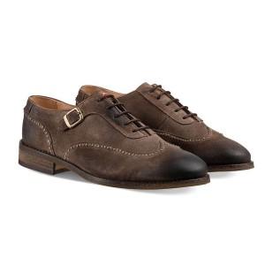 נעליים אלגנטיות נו ברנד לגברים NOBRAND Taylor - חום בהיר