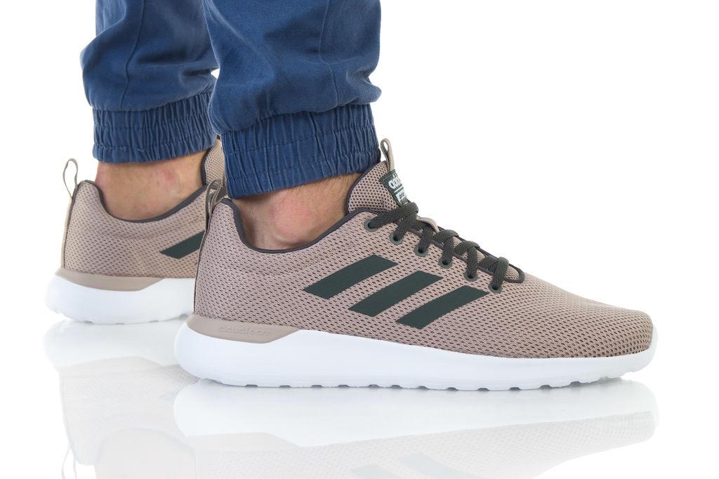 נעליים אדידס לגברים Adidas LITE RACER CLN - חום בהיר