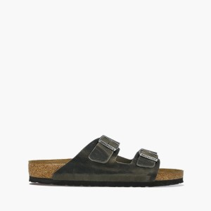 כפכפים בירקנשטוק לגברים Birkenstock 1Arizona BS - אפור כהה