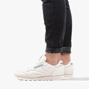 נעליים ריבוק לגברים Reebok Classic leather - לבן/ירוק