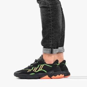 נעליים Adidas Originals לגברים Adidas Originals Ozweego - שחור/ירוק
