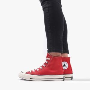 נעליים קונברס לנשים Converse Chuck Taylor 70 Hi - אדום