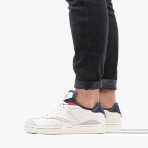 נעלי סניקרס ריבוק לגברים Reebok Club C RC 1.0 - לבן