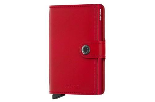 אביזרים סיקריד לנשים Secrid Miniwallet Vintage - אדום