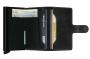 ארנק סיקריד לגברים Secrid Miniwallet Vintage - שחור