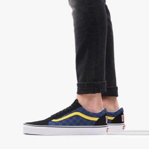 נעליים ואנס לגברים Vans Old Skool - כחול/אדום