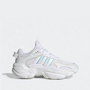 נעליים Adidas Originals לנשים Adidas Originals  Runner - לבן/ כחול