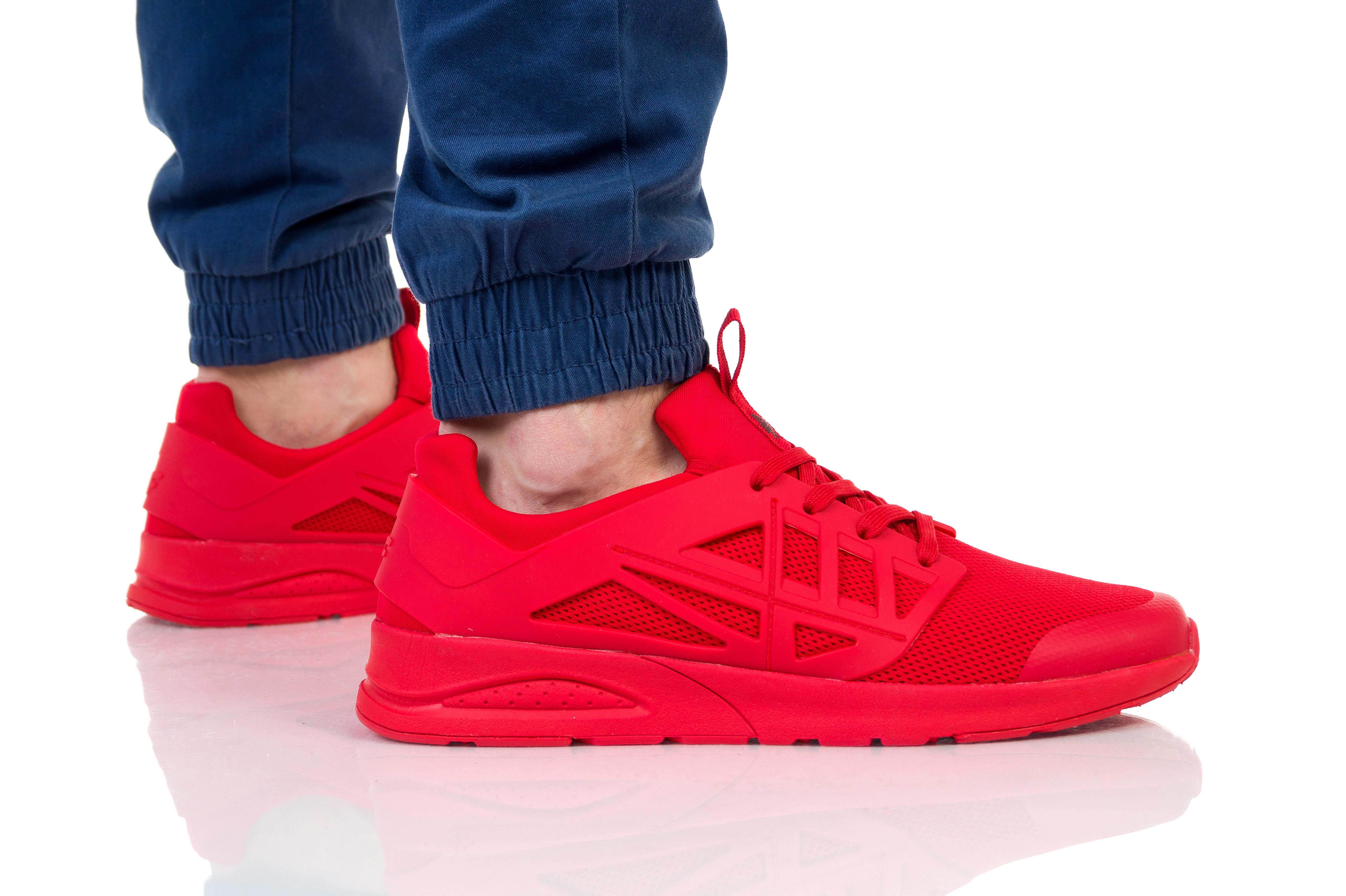 נעליים פור אף לגברים 4F D4L19 OBML202 - אדום