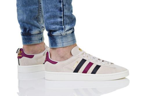 נעליים אדידס לגברים Adidas Campus - לבן/שחור