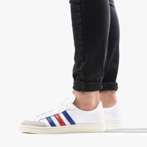 נעליים אדידס לגברים Adidas Originals Americana Low FTW - לבן  כחול  אדום