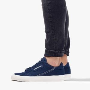נעליים אדידס לגברים Adidas Originals Continental Vulc - כחול