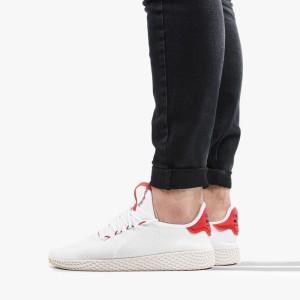 נעליים Adidas Originals לגברים Adidas Originals  Pharrell Williams Tennis - לבן/אדום