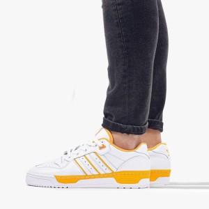 נעליים Adidas Originals לגברים Adidas Originals Rivalry Low - לבן/כתום