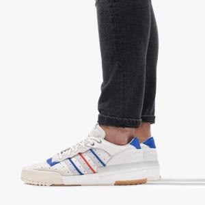 נעליים Adidas Originals לגברים Adidas Originals Rivalry RM LOW - לבן  כחול  אדום