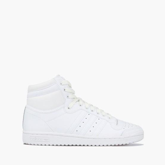 נעלי סניקרס אדידס לגברים Adidas Originals Top Ten HI - לבן