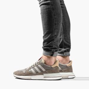 נעליים Adidas Originals לגברים Adidas Originals ZX 500 RM - חום  כסף