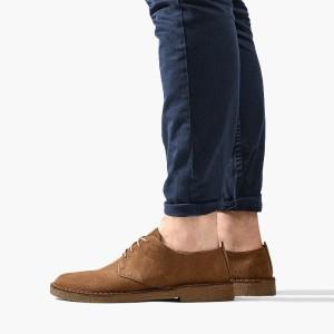 נעליים אלגנטיות קלארקס לגברים Clarks Originals Desert London - ברונזה