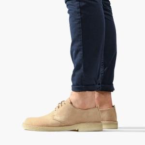 נעליים אלגנטיות קלארקס לגברים Clarks Originals Desert London - בז'