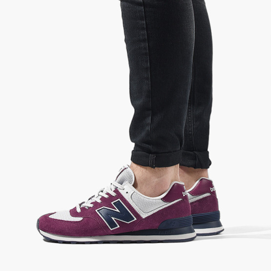 נעליים ניו באלאנס לגברים New Balance ML574ESW - בורדו