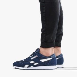 נעליים ריבוק לגברים Reebok Classic Nylon - כחול כהה