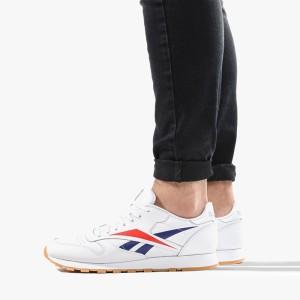 נעליים ריבוק לגברים Reebok Classic Leather Vector - לבן/אדום