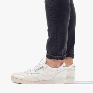 נעליים ריבוק לגברים Reebok Phase 1 Pro - לבן/ירוק