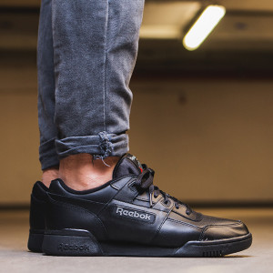 נעליים ריבוק לגברים Reebok SHOES SNEAKERS  WORKOUT PLUS - שחור