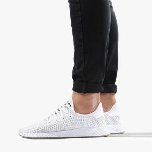 נעליים Adidas Originals לגברים Adidas Originals  Deerupt Runner - לבן
