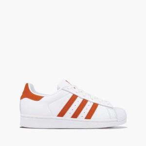 נעליים אדידס לנשים Adidas Originals Superstar - לבן/אדום