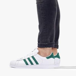נעליים אדידס לנשים Adidas Originals Superstar - לבן/שחור