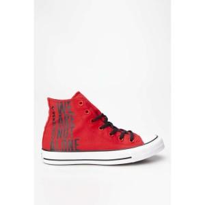 נעליים קונברס לנשים Converse CHUCK TAYLOR ALL STAR HI 467 - אדום