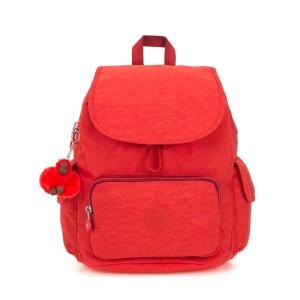 אביזרים קיפלינג לנשים Kipling City Pack S 13L - אדום