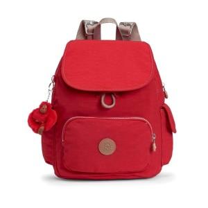 אביזרים קיפלינג לנשים Kipling City Pack S - אדום