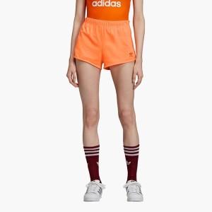 ביגוד אדידס לנשים Adidas Originals 3-Stripes - כתום