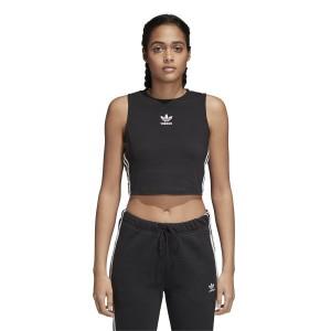 ביגוד Adidas Originals לנשים Adidas Originals Crop Tank - שחור