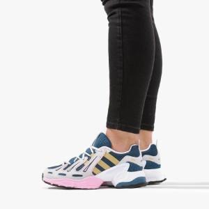 נעליים Adidas Originals לנשים Adidas Originals Equipment Gazelle W - לבן/כתום