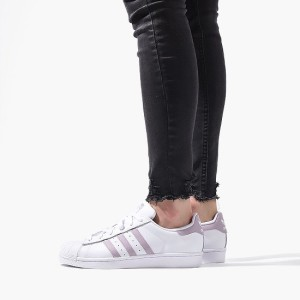 נעליים Adidas Originals לנשים Adidas Originals Originals Superstar - לבן/ורוד