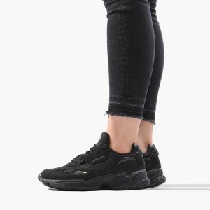 נעליים אדידס לנשים Adidas Falcon - שחור מלא