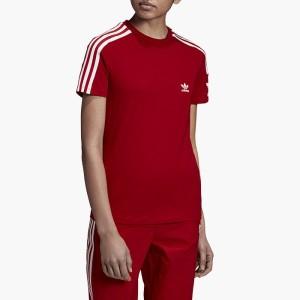 ביגוד אדידס לנשים Adidas Originals Lock Up Tee - אדום