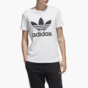 ביגוד Adidas Originals לנשים Adidas Originals  Adicolor - לבן