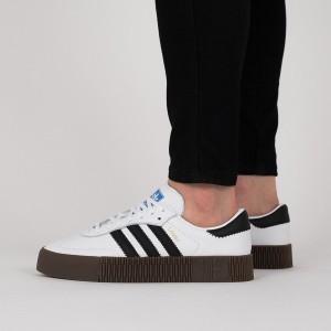 נעליים Adidas Originals לנשים Adidas Originals Sambarose - לבן/שחור