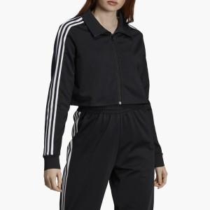 ביגוד אדידס לנשים Adidas Originals Track Top - שחור