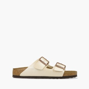 כפכפים בירקנשטוק לנשים Birkenstock Arizona BS - בז'