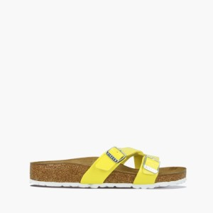 כפכפים בירקנשטוק לנשים Birkenstock Yao Balance - צהוב