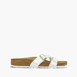 נעליים בירקנשטוק לנשים Birkenstock Yao Balance - לבן
