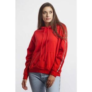 בגדי חורף ליוויס לנשים Levi's UNBASIC HOODIE - אדום