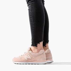 נעליים ניו באלאנס לנשים New Balance WL574MEC - ורוד בהיר